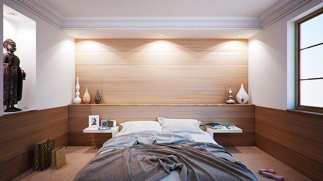 éclairage de la chambre : lustre ou applique